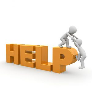 get help and a lift