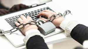 workaholic chained to work