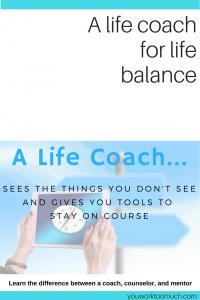 life coach for life balance